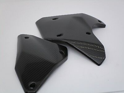 Kawasaki Ninja H2 2015-2017 Lower Side Panels Carbon Fiber Glossy Finish