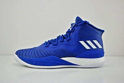 ce9e186270b Mens Adidas D Rose 8 Basketball Shoes Size 14 Blue White CQ1621 Derrick Rose