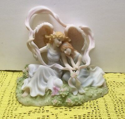 """Seraphim Classics Angel Figurine """"I'll Be There For You """" #84456 No Box"""