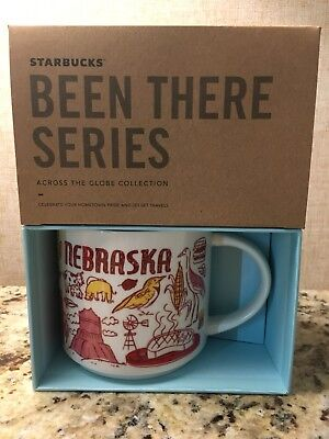 Starbucks Nebraska Been There Series Across The Globe Collection New Mug Coffee