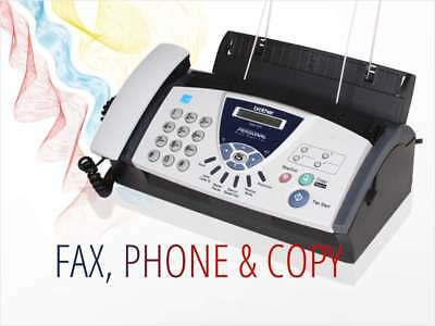 NEW SEALED BROTHER FAX-575 Personal Fax, Phone, and Copier