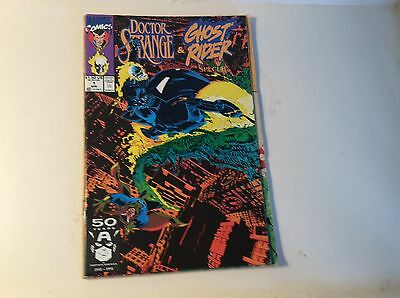 Doctor Strange and Ghost Rider Special #1 Marvel comics April 1991 VF