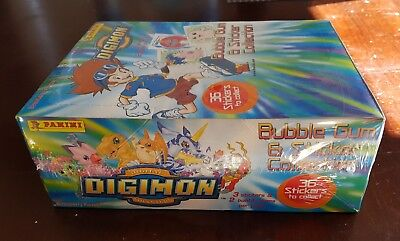 Digimon bubble gum and sticker collection