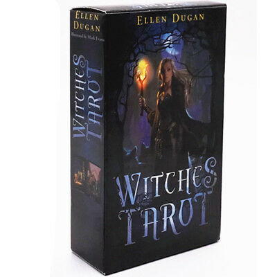 Witches Tarot Deck Сard Rider-Waite Smith English Version 78 Cards Set
