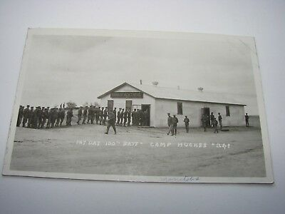 Canada WW1 CEF Military Postcard The 100th Battalion, Pay Day at Camp Hughes
