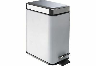 HOME Sabichi 5 Litre Slim Line Bin - Pewter.From the Official Argos Shop on ebay