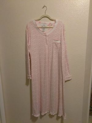 Pink Floral Nightgown