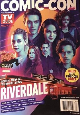 Comic Con 2018 Tv Guide Special Supernatural Cover Exclusive New