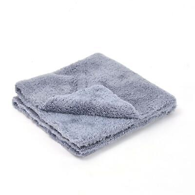 Absolute - Korean Microfibre - Plush, Grey Edgeless Cloth - 470gsm 40 x 40cm 5PK