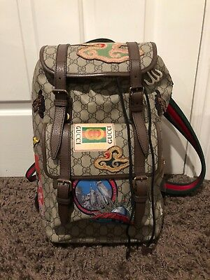 GUCCI COURRIER SOFT GG Supreme backpack -  3 2b421acbdbcca