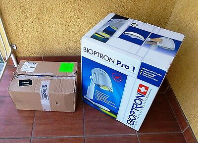 Zepter Bioptron PRO1 LAMP Polarized Light Therapy + 7 COLOR LENSES in BOXes