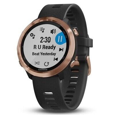 Garmin Forerunner 645 Music GPS Watch (010-01863-33) with GEN GARMIN WARR