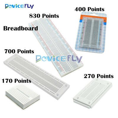 Mini Solderless Breadboard 170 270 400 700 830 Contacts Tie Points PCB Board