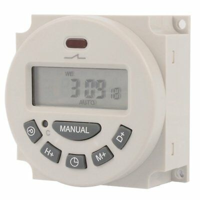 L701 Digital LCD Power Programmable Timer Switch Controller For Lights Elec B7X6