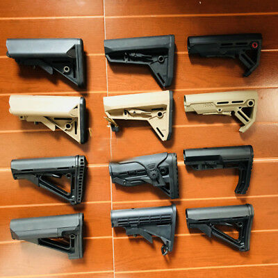 Nylon Buttstock For JinMing Gen8 M4A1 Gel Ball Blaster Toy Gun Accessories