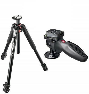 Manfrotto MT055XPRO3 Aluminum Tripod with 324RC2 Joystick Handle Ball Head