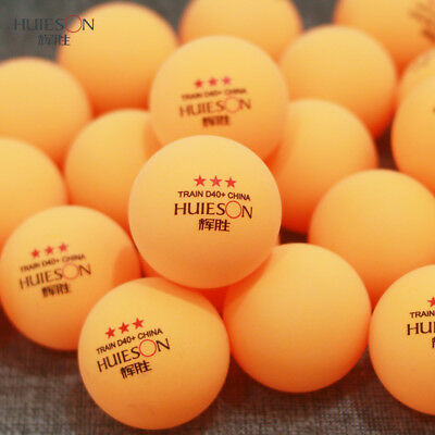 Professional Table Tennis Balls 3 Stars Ping Pong Training Competition Game 40mm
