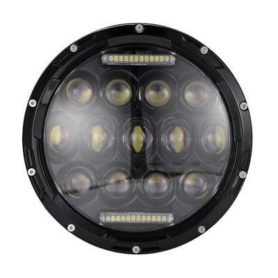 2Pcs 7inch CREE High-Low Beam Round 4x4 DRL Headlight Offroad LED Driving Light
