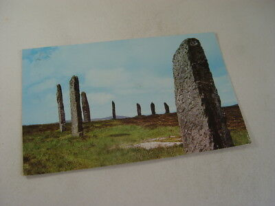 TOP18324 - Postcard - The Ring of Brodgar 1974