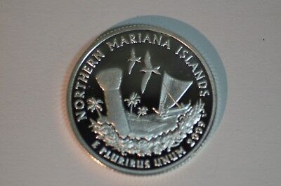 2009-S Northern Mariana Proof (90% Silver) Territories Quarter    Item #490