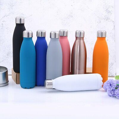 1000ML Stainless Steel Water Bottle Creative Insulation Cup Gym Sport Travel AU