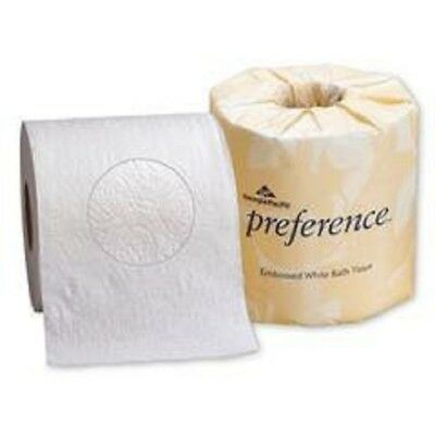 Georgia Pacific Preference 80 Rolls Bathroom Tissue Toilet Paper White 2 PLY