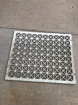 The antique cast-iron heating great face or cold air return 26.25 x 32.25