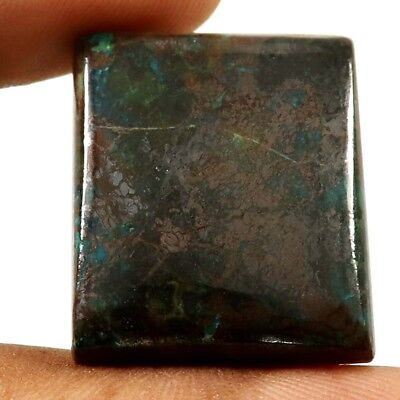 54.70ct 100% Natural Designer Iron Azurite Gemstone Octagon Shape Loose Cabochon
