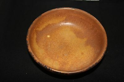 McCoy USA Coupe Cereal Bowl Canyon Mesa Pottery Brown 1413