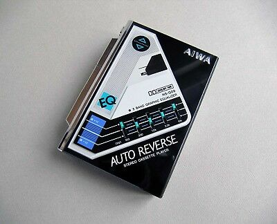 AIWA HS-G09 WALKMAN CASSETTE PLAYER from 1986 working also named AIWA HS-G600