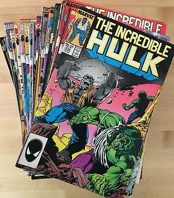 60 issues of Incredible Hulk 1987-1995 Marvel