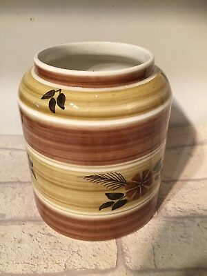 Vintage Hand Painted Tony Raymond Jar Pot Studio Pottery