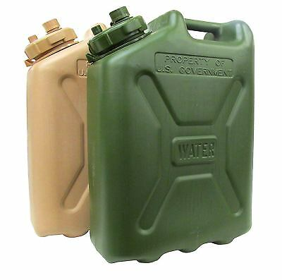 Water Can LC Industries Jerry Water Cans MILITARY (5-Gallon) Camping New