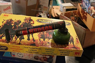 H. D. Hudson Vintage Sprayer Duster With Original Green Glass Well