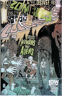 Zombies Vs Humans & Aliens 4 - The Colonized IDW Chris Ryall Drew Moss #SCARCE#