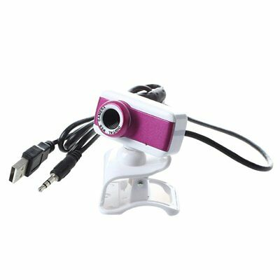 USB 2.0 HD Webcam Camera 1080P With for Computer Desktop PC Laptop Rose W8K9