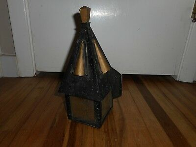 Antique Vintage Old Arts & Crafts Bungalow Gothic Hanging Porch Light Fixture