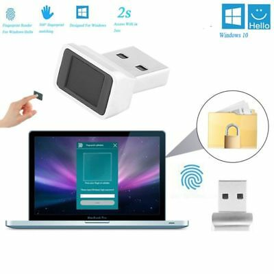 USB Fingerabdruck Fingerprint Leser Scanner Sensor Reader Dongle for Windows 10
