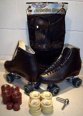 Riedell quad skates size 11 Rink and Street wheels - fine condition