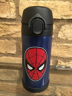 New Pottery Barn Kids Spiderman Water Bottle 12oz Insulated thermos