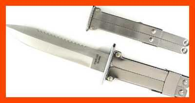 """Ruko WWII Stainless Steel Blade Paratrooper Knife 5 3/8"""" FREE SHIPPING"""