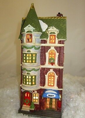 Department 56 5607 Park Avenue Townhouse # 5977-3 Christmas in the City Boxed