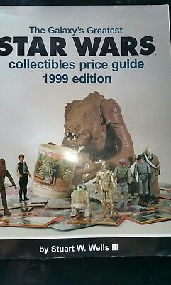 The Galaxy's Greatest Star Wars Collectibles Price Guide 1999 Edition orig 26.95