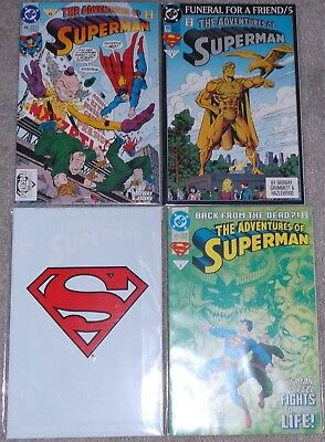 Adventures of Superman - Issues 496, 499 & 500