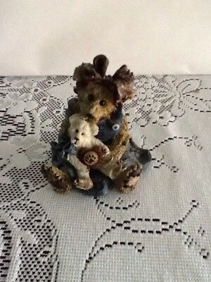 Boyds Bears Resin #227711 Momma McBear and Caledonia... Quiet Time 9E/ 3265