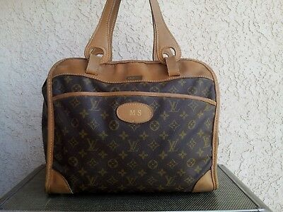 9a7f51b0e3db Louis Vuitton Saks Fifth Avenue French Company Carry On Travel Bag~Luggage  HTF