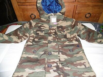 BNWT Boys JOULES Camouflage Padded Coat 3 Years