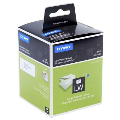 1 x Dymo SD99012 / S0722400 Labelwriter Large Address Paper Labels 36mm x 89mm
