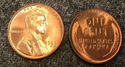 1953 D Lincoln Wheat Cent Nice MS//BU RED Lincoln Coin high grade