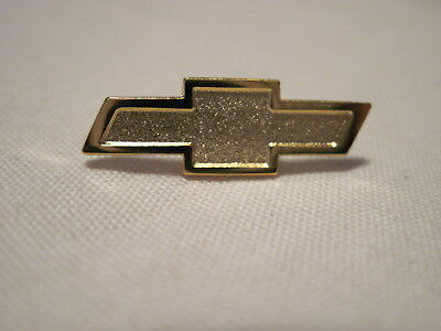 Chevrolet Gold Colored Bow Tie Chevy  Hat Pin,lapel Pin,insignia ,logo